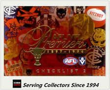 2013 Select AFL Prime VFL Premiership Commemorative Card Pc99 Fitzroy 1899