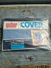 "Vintage Weber Grill Kettle Cover never used 1978 no 4701 22 1/2""  grills"