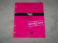 John Deere Used 760 790 850 870 Flail Spreader Operators Manual A3
