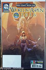 Worlds of Aspen FCBD 2016 VF+/NM- 1st Print Free UK P&P Aspen Comics