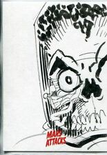 Mars Attacks Invasion Sketch Card By John McCrea
