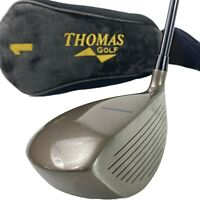 Thomas Golf RH AT380 6AL-4V 10.5* Driver Graphite Senior Flex Shaft W/Cover