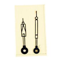Feine Uhrenzeiger Zeiger Ersatzteil f. Miniaturuhr Stiluhr Reiseuhr Uhr Uhrwerk