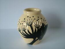 Moorcroft British art pottery modern miniature vase 5 cms high first quality