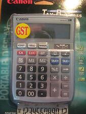 Tax Business Canon LS121TS Desktop 12 Digit Сalculator Free Post
