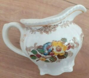 Antique Ridgway Apple Blossom jug very clean condition