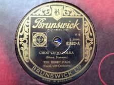 MERRY MACS - Choo Choo Polka 78 rpm disc (A++)