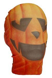Pumpkin Halloween Full Head Morph Style Mask - Fancy Dress - Costume - Evil -