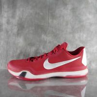 21cecc6652b NEW Nike Kobe X 10 TB RARE! 813030 603 GYM RED WHITE Basketball Men s