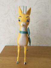 Lovely Vintage 1960s/70's Babycham Bambi Deer Advertising Figure 19cm High