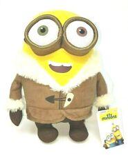 "30cm (GENUINE) Minions Ice Village Plush Soft Toy Teddy - Bob, 10"" New with Tags"