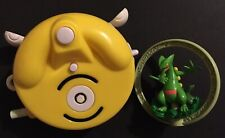 Sceptile Metal Ring Bandai Pokemon Figure With Yellow Stand 2005 RARE