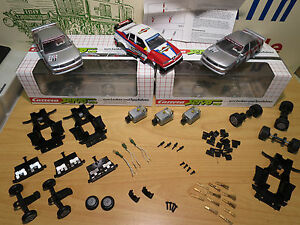 (J11) Carrera Servo 140 Original Auto Ersatzteile V2 & V3 Neuf Top Ersatzteile