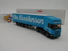 """Wiking 0537 09 - Scania R420 Topline Gard.Pl.SZ """" Sped. Chr. Carstensen """" 1:87"""
