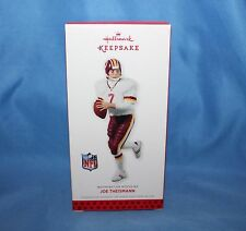 2013 Hallmark Keepsake Joe Theismann Christmas Tree Ornament Washington Redskins