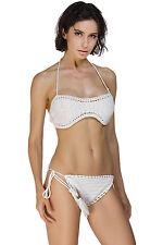 Costume Da Bagno Aperto Uncinetto Crochet Bikini slim sling Swimwear Swimsuit