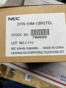 NEC DTR-1HM-1 TELEPHONE SINGLE LINE PHONE (Part # 780025) NEW OPEN BOX TESTED
