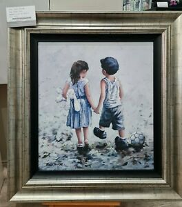 Keith Proctor - Small Talk (Framed) - In Stock