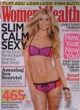 SUPERMODEL MARISA MILLER January/ February 2012 WOMEN'S HEALTH Magazine