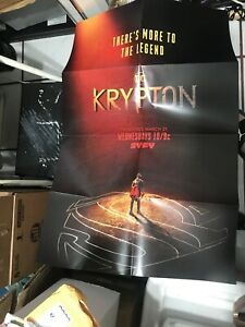SYFY NETWORK KRYPTON DC COMICS SUPERMAN  POSTER 2018 24X36 New