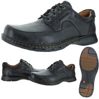 Unstructured by Clarks Men's Un.Bend Leather Cushioned Casual Oxford Shoes