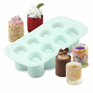Wilton Shot Glass Mold 8 cavity silicone mould      Next Day Despatch