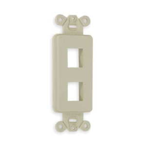 Pack of 25 Hubbell ISF2EI Outlet Frame