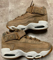 Nike 354912-200 Air Griffey Max 1 Suede Sneakers Wheat-Flax Men's Size 10