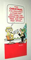 Newspaper Comic Strip Merry Christmas Card Andy Cap 1983 NOS New Smythe