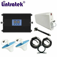 2G 3G 4G 850 1900MHz Phone Repeater Amplifier Band 5/2 Signal Booster w/ MGC AGC