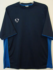 Nike Mens S/S Navy Blue Crew Active T-Shirt Nwot - Size Large*