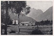 D2223 I Bagni di Moos presso Sesto (Sexten) - Stampa d'epoca - 1923 old print