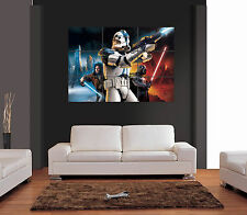 STAR WARS BATTLEFRONT 2 Unique Vector Giant Wall Art Print Picture Poster