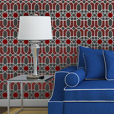 Moroccan Wall Stencil Tangier Allover Trellis Stencil for DIY Wallpaper Decor