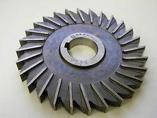 "Moon Cutter SM55500-1-28T 5-1/2"" x 1/2"" x 1-1/4"" HSS 28-Teeth Side Mill Cutter"
