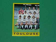 N°350 EQUIPE PART 1 TOULOUSE Téfécé STADIUM PANINI FOOTBALL FOOT 89 1988-1989