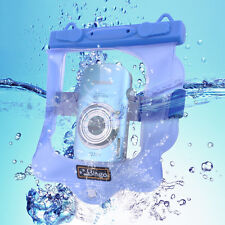 Bingo Waterproof Dry Bag fr Camera SLR DSLR Protector Underwater w/Clip Bluewp19