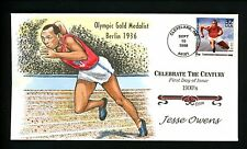 Collins HP FDC #3185j (N2910) CTC 1930's - Jesse Owens - Olympic Gold Medalist
