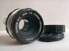 Nikon Nikkor 50mm f2 H-C ,super Abbildungsleistung!!!!
