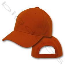 Blank Cap Plain Color Twill Six Panel 6 Solid Hat Men Women Acrylic