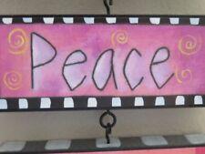 DEMDACO Storysquares inspiring wall art, PEACE