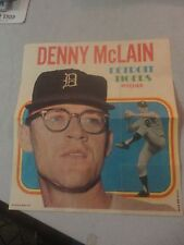 Rare TOPPS Detroit Tigers Pitcher Denny McClain #24 out of 24