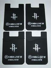 Econo Silicone Cell Phone Mobile Pouch Lot Of 4 - NBA Live 18 Houston Rockets
