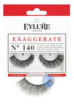 EYLURE EXAGGERATE FAKE EYELASHES FALSE EYE LASH 140.