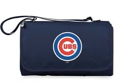 Chicago Cubs Picnic Blanket Tote Zipper Pocket Navy NWT MLB Authentic Outdoor