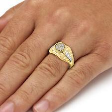 1212fd2faa92 Anillos de joyería sello de oro amarillo diamante
