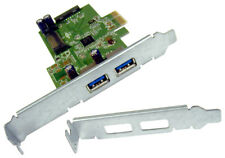HP USB 3.0 2x2 SuperSpeed PCIe x1 Card New 661320-001 Standard & LP 609885-001