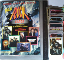 ROCK 200  CARDS AND STICKERS  STORAGE FOLDER  + ALBUM    FROM ARGENTINA 1997