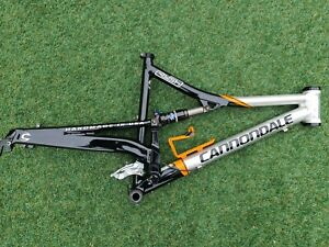 MADE IN USA Cannondale Rush Full Suspension MTB Frame w/ Fox Float RP23 Shock L