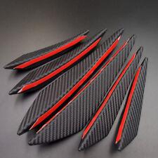 Car Bumper Carbon Fiber Lip Fin Canard Splitter Diffuser Spoiler Lip Air Knife